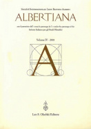 Albertiana, vol. IV/2001