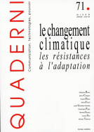 Quaderni, n°71/hiver 2009-2010