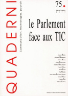 Quaderni, n° 75/ printemps 2011