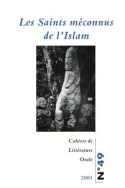 Cahiers de littérature orale, n° 49/2001