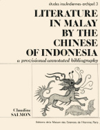 Literature in Malay by the Chinese of Indonesia