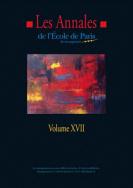 Les Annales de l'EPM - Volume XVII