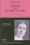 Mémorial pour Else Bloch-von Stritzky