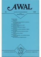 Awal, n° 19/1999