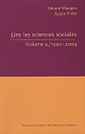 Lire les sciences sociales