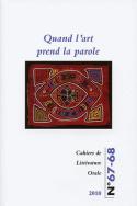Cahiers de littérature orale, n° 67-68/2010