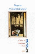 Cahiers de littrature orale, n 53-54/2003