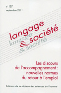 Langage et socit, n137/septembre 2011