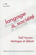 Langage et socit, n139/mars 2012