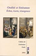 Cahiers de littérature orale n°56, 2004